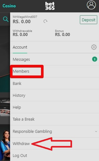 Bet365 Account Withdrawal