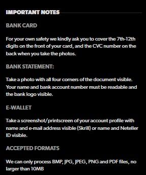 Rizk Casino Account Verification 03