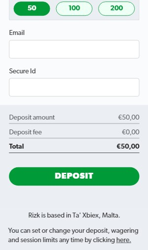 Rizk Casino Deposit Guide 03