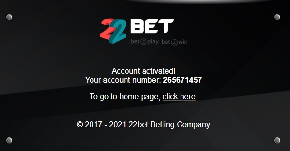 22Bet Casino Registration Guide 03