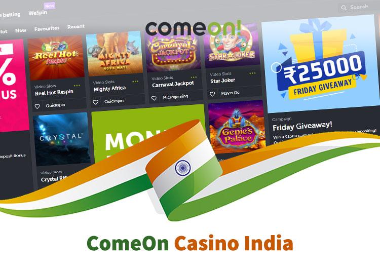 ComeOn india