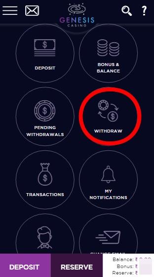 Genesis Casino Withdrawal Guide