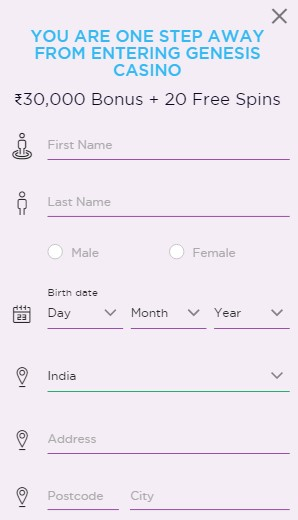 Genesis Registration Guide 03