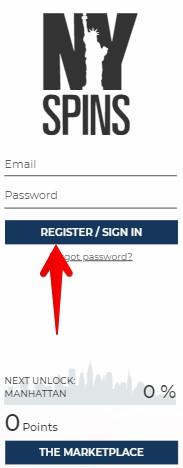 Nyspins Casino Registration Guide 01