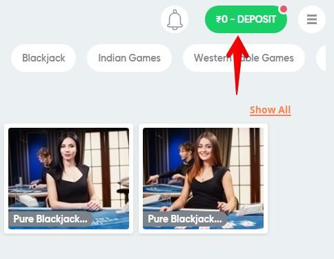 Pure Casino Deposit Guide 01