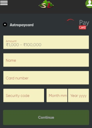AstroPay Card Deposit at Casino Guide 02