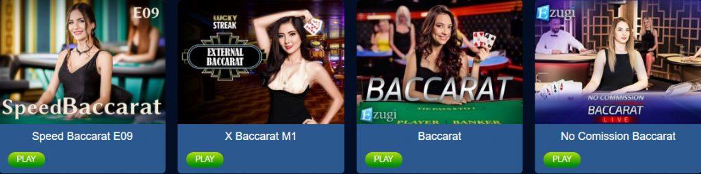 JungleRaja Live Baccarat