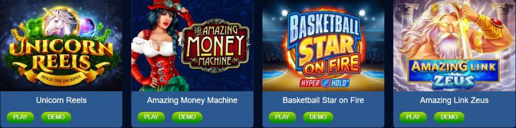 JungleRaja Online Jackpots