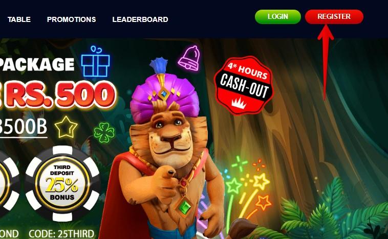 Jungleraja Registration Guide 01