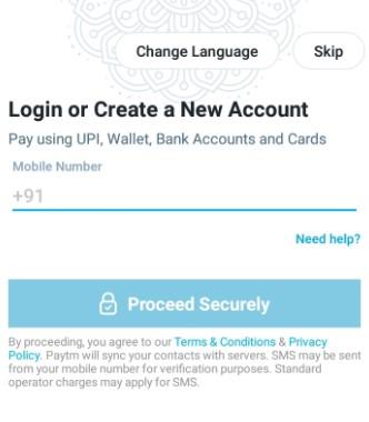 PayTM Registration Guide 02