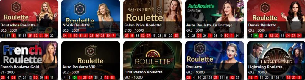 Mr Play Online Roulette