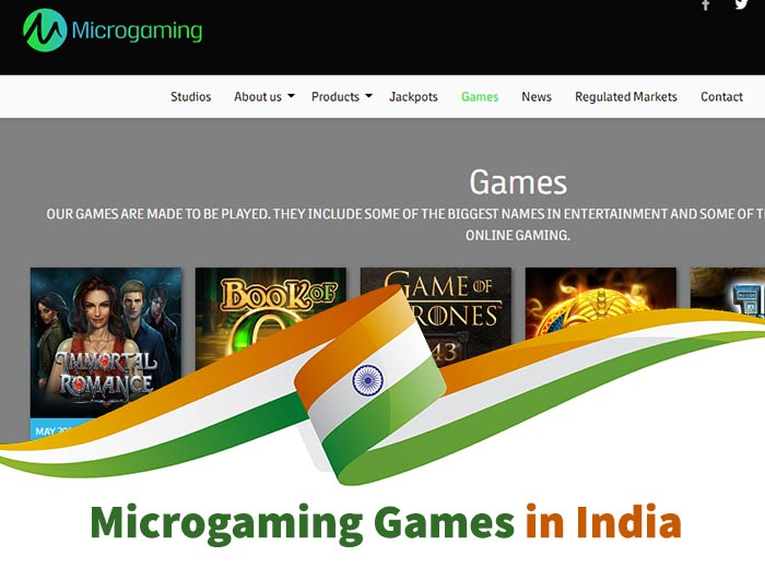 Microgaming in india