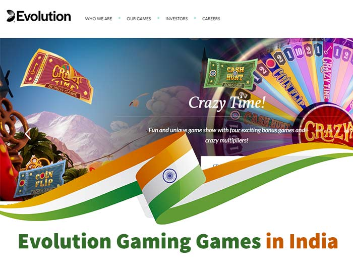 evolution gaming in india