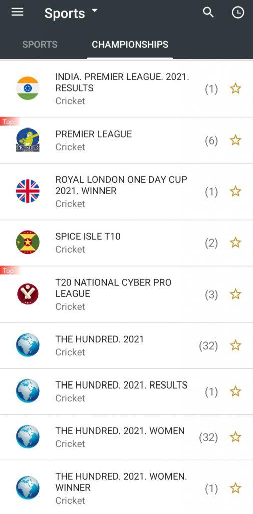 10Cric App Cricket betting