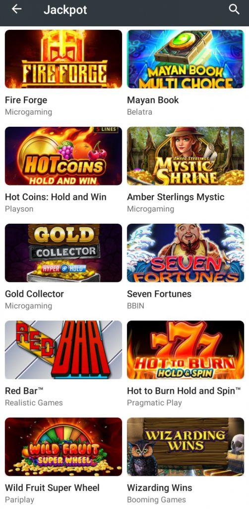 10Cric app Jackpots