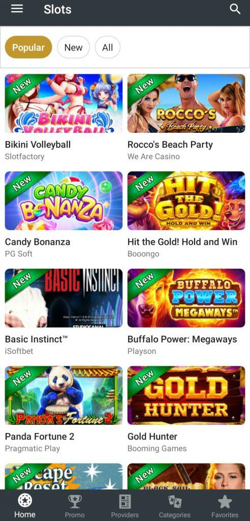 10Cric app Slots