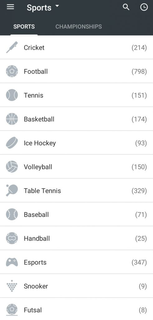 10Cric app sports